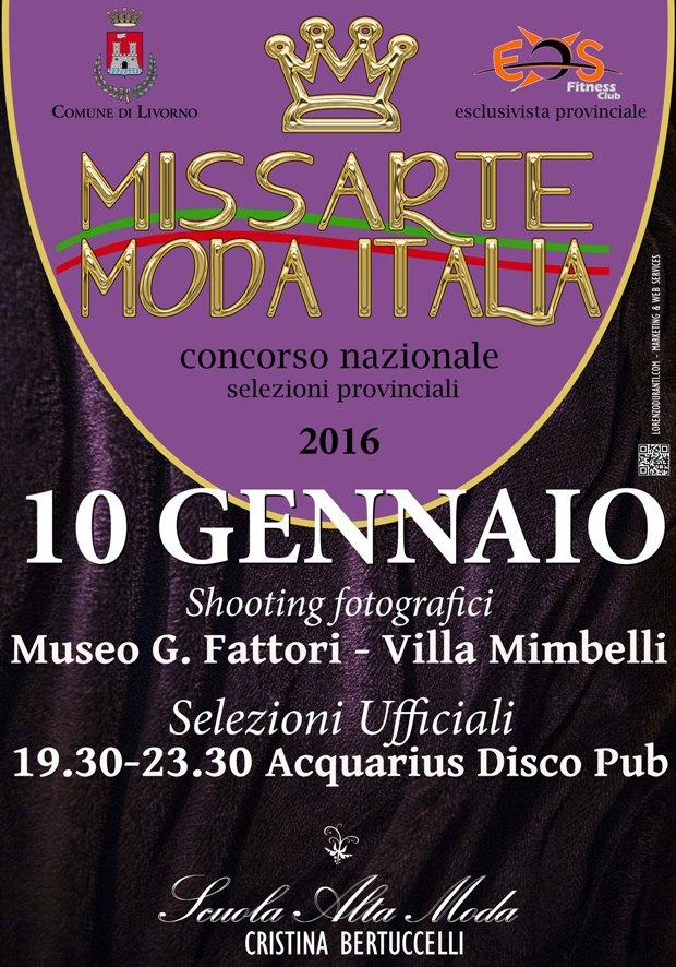 MISS ARTE MODA ITALIA LIVORNO